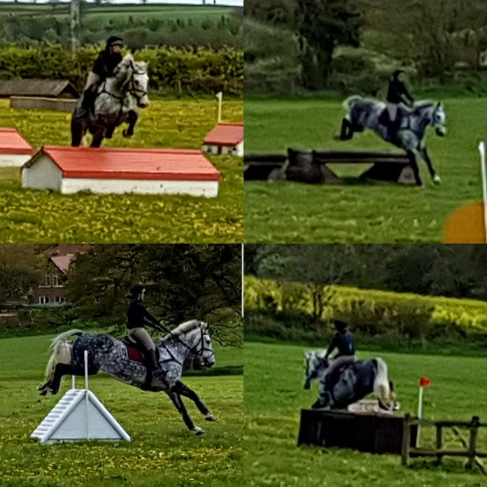 Jack at Eventers Camp Bicton
